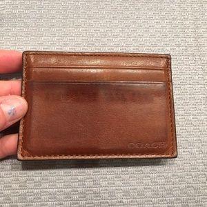 Coach Accessories - Coach money clip